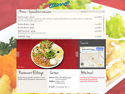 creare website restaurant