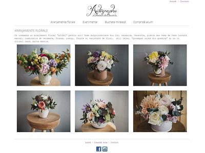 creare website florarie si decoratiuni florale